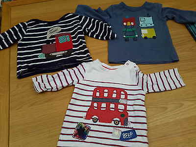 Next and M&S boys Top bundle 3-6 months RRP:£30