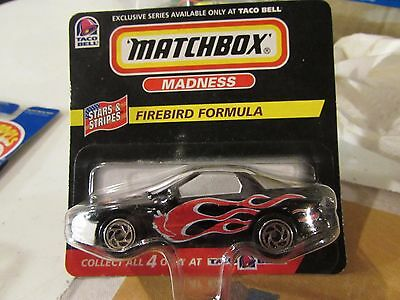 Matchbox Madness Firebird Formula Exclusive from Taco Bell