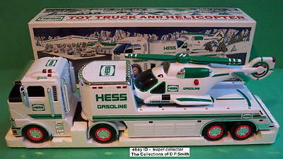2006 Hess Toy Truck and Helicopter Mint in Mint Box