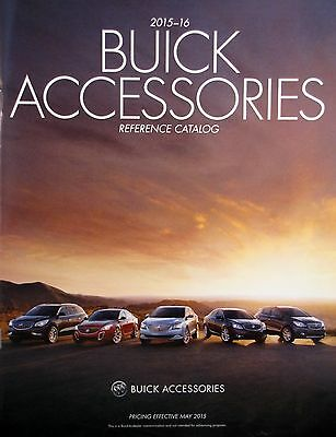 2015-16 Buick Accessories Reference Catalog - May 2015