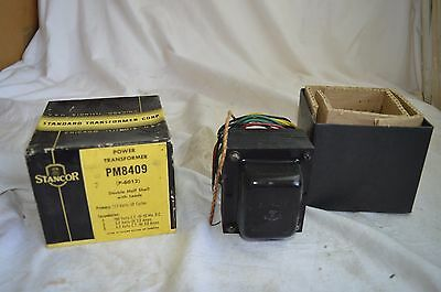 New Nos Stancor Power Transformer Pm 8409 Vacuum Tube Amp Amplifier Free Ship