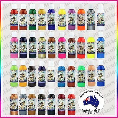 38PCS Mr. Color Acrylic Paint from Radical Paint Made in OZ NON-TOXIC 125ML