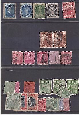 COLLECTION OF OLD USED STAMPS. (a)