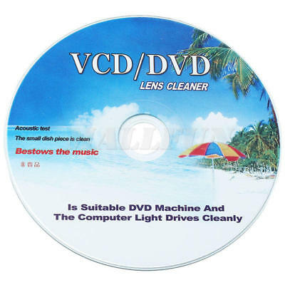 1/Set Disc Lens Laser+ Cleaning Fluid Kit For DVD CD VCD Remover Skipping
