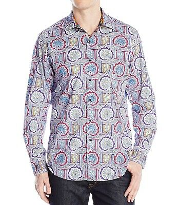 Robert Graham Exclusive Cabin Steward Paisley Button Shirt Men 3XL NEW