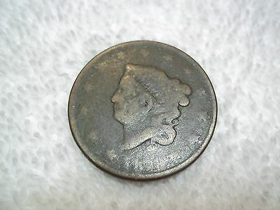 US Large Cent looks to be 1819   well worn older coin