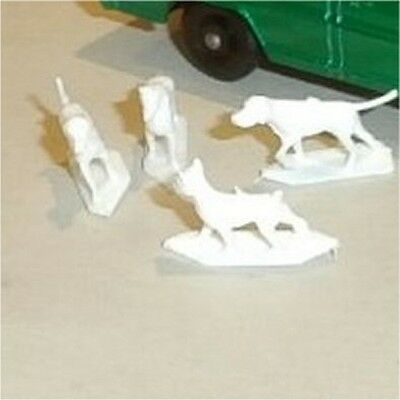 Matchbox Lesney 50 c Ford Kennel Truck set of 4 Dogs replacement parts