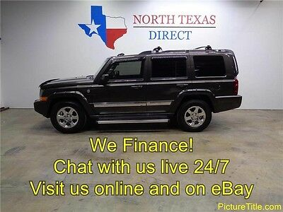 2006 Jeep Commander Limited Sport Utility 4-Door 06 Commander Limited 4x4 5.7 Hemi V8 Sunroof Heated New Tires We Finance Texas