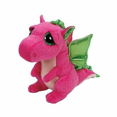 Darla The Pink Dragon  Ty Beanie Boos  Brand New