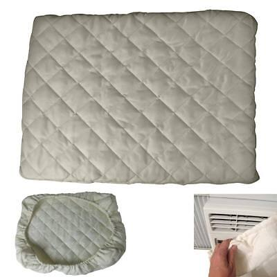 Indoor Air Conditioner Cover White Protection Winter Stay Warm AC ALL SIZE S M L