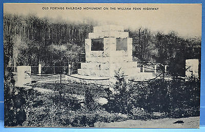 Old Portage Railroad Monument On The William Penn Highway