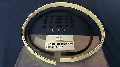 Federal Beacon Ray Complete Rubber Restoration Kit White 17-173-174-175-176