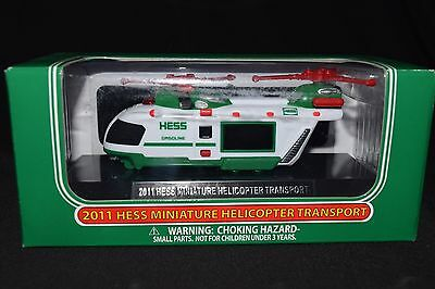 2011 Hess Mini helicopter NIB, Free Shipping