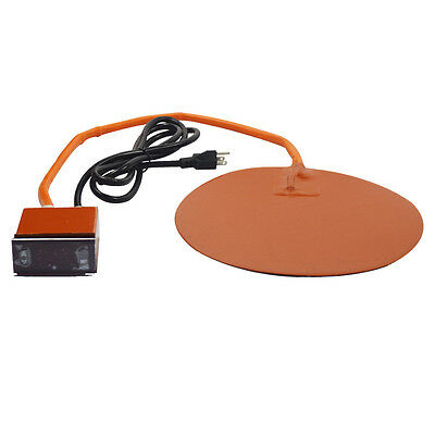 10inch Digital Thermal Heat Pad for Vacuum Chamber Extraction Systems Centigrade