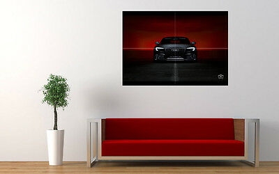 Audi S5 Black New Giant Large Art Print Poster Picture Wall