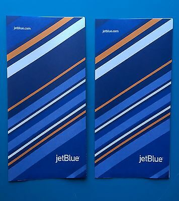 2 Jetblue Airlines Ticket Jackets