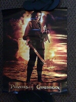 Will Turner Pirates of the Carribean Poster
