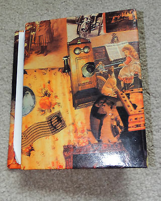 Gold Brown Vintage Style Photo Album Brag Book for 4x6 pictures