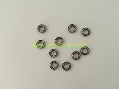 10/50pc Miniature Model Bearing MR Series MR52ZZ To MR148ZZ Metal Shield Bearing