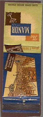 KENNEDY MANOR Madison WIS.WI.  Matchbook 104