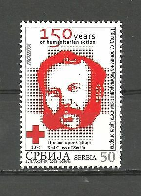 SERBIA 442 2013 -150 y.Internat. Committe of red Cross MNH