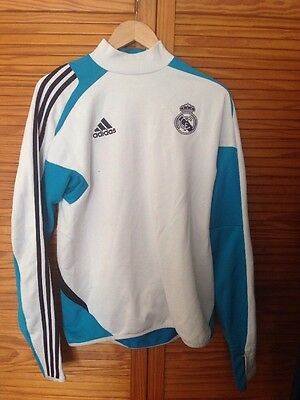 Adidas Men's White Real Madrid Training Top Small