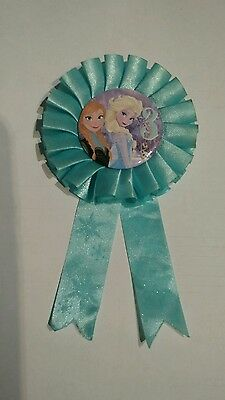Disney Frozen Rosette third Birthday Badge Age 3