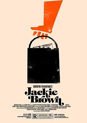 Quentin Tarantino Movies Jackie Brown  A3 Art Print Poster Yf5418