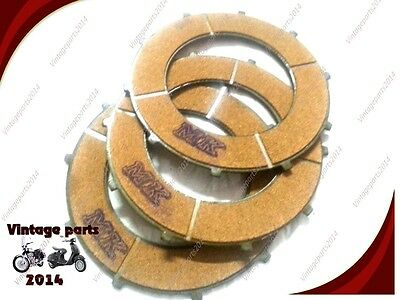 New Replacement Enfield Clutch Friction Plate Set Set Of 3