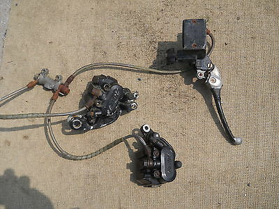 cbr 600 1987 brake calipers and master unit other parts avalible