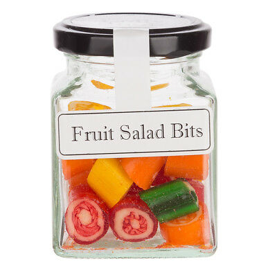 NEW The Lolly Shop Fruit Salad Rock Candy 100g