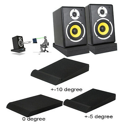 2x Beyond Studio Monitor Acoustic Speaker Isolation Stabilizer Foam M99G Durable