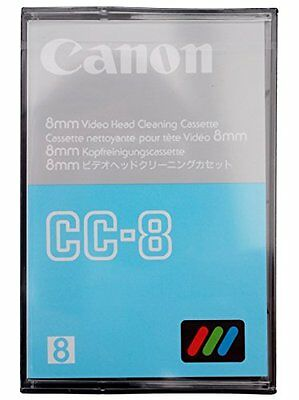Canon Cc-8 8Mm Hi8 Digital Camcorder Video Head Cleaning Cassette Cleaner Tape
