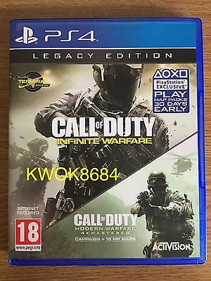 Call Of Duty Infinite Warfare Legacy Edition for Playstation 4/PS4