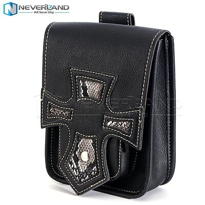 Motorcycle Saddlebag Side Tool Saddle Bag For Harley Custom Bobber Chopper