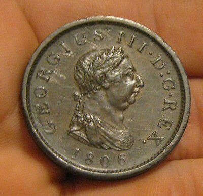 Great Britain - 1806 Penny - Very Nice Coin!