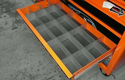 Deep draw dividers fits snap on tool box