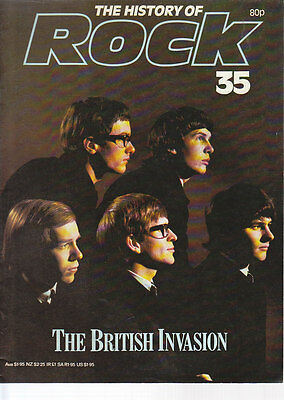 Vintage History of Rock Magazine, No35, The Zombies Cover