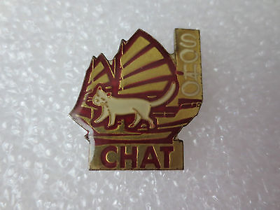 The Year Of The Cat Chinese Zodiac Calendar Sign Pin Badge, Animals Wildlife