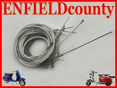 New Lambretta Scooter Complete Cable Kit Solution Deal @cad