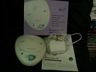 BT Response 12 Digital Answering Machine, Boxed, Tested, Trusted Ebay Shop