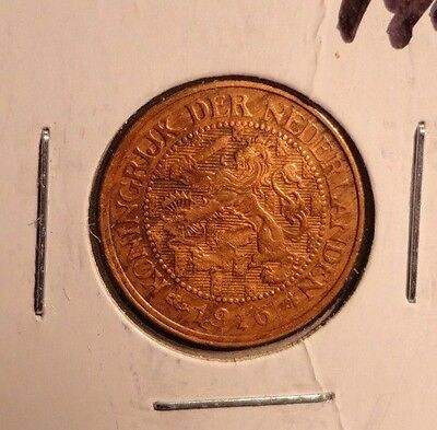 Circulated 1916 1 Cent  Netherlands Coin (:71516)!