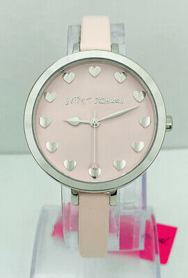 Betsey Johnson Women'S BJ2131  Pink Dial And Strap Watch