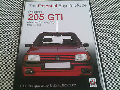 Peugeot 205 GTi Essential Buyer's Guide Handbook Sized Great Collectors Book
