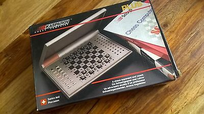 Kasparov Electronic Chess Computer Coach Plus Chess 1987 SaiTek ScySys