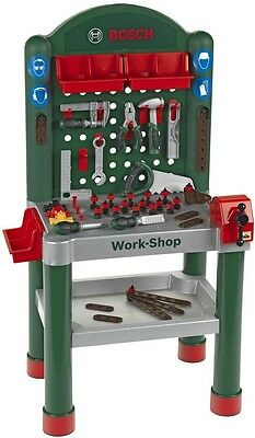 Childrens Work Bench Plastic DIY 75 Pieces Tool Creative Play Set Activity Toy