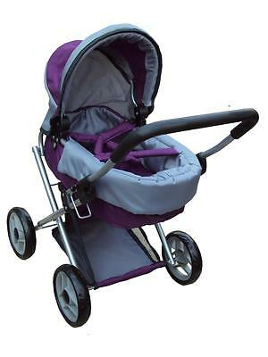 mama -bebe stroller for baby doll great gift for any occasion Item # 9808 purple