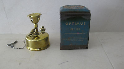 Optimus 80 Petrol Stove -  Made in Sweden