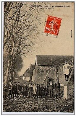 CPA 45 - BOISCOMMUN - Ancienne Fortifications Mail des Platanes