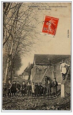 CPA 45 - BOISCOMMUN - Anciennes Fortifications Mail des Platanes